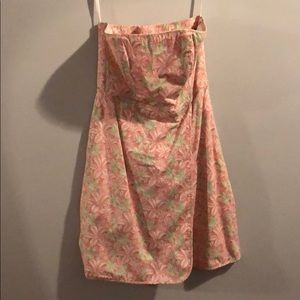 Vineyard vines strapless dress size 2 worn once